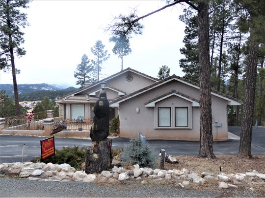 House for sale in Indian Hills in Ruidoso, New Mexico.