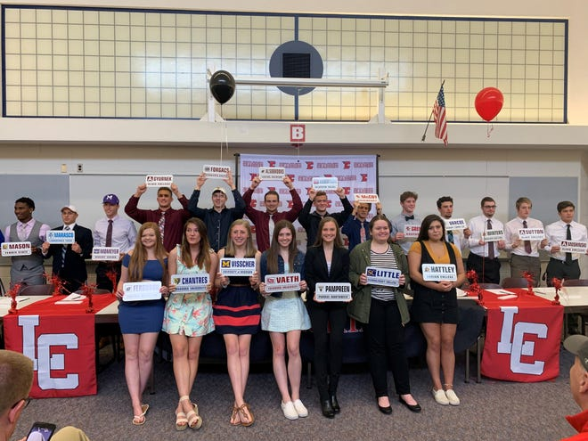 Livonia Churchill has 21 seniors that will be playing college sports next year.