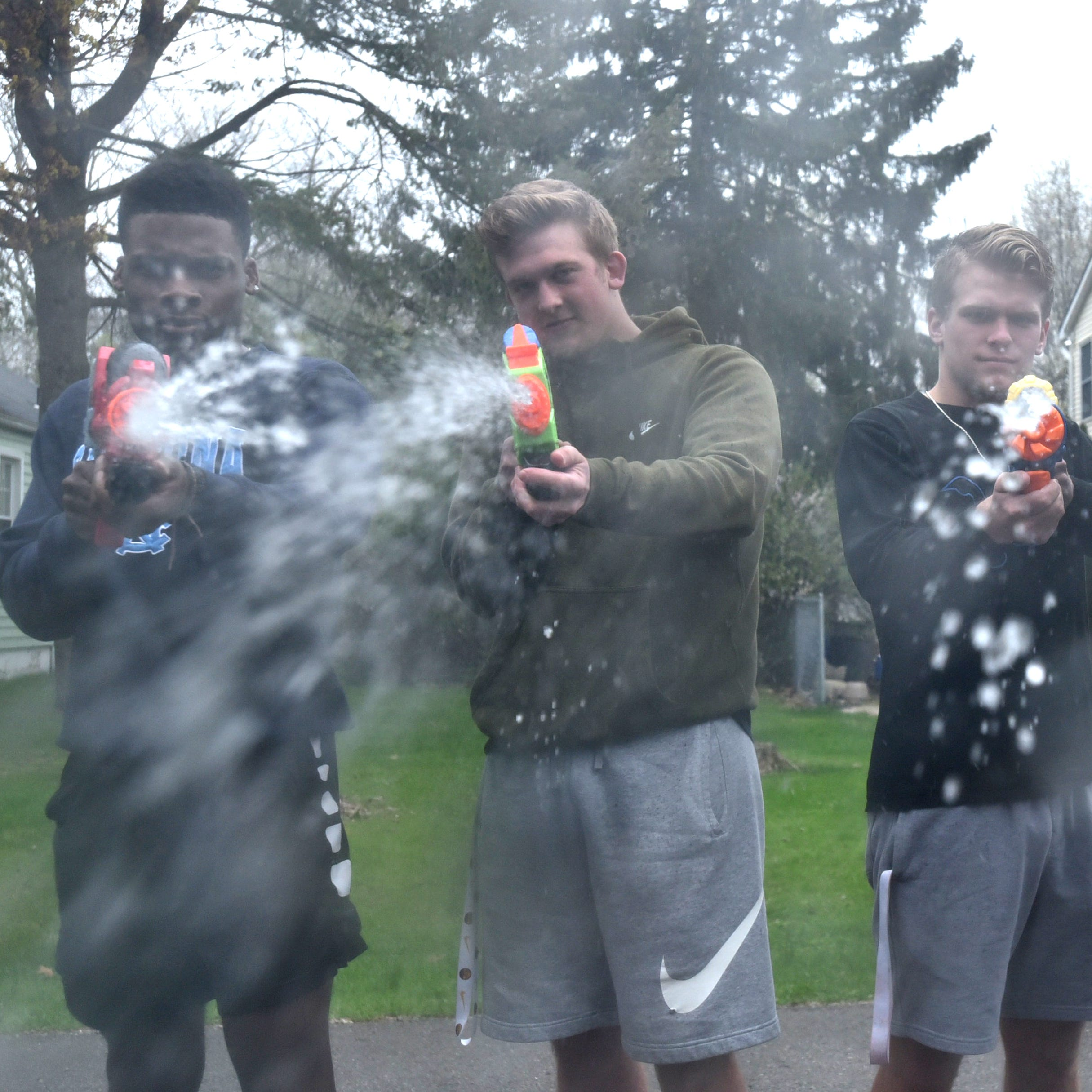 Water Wars bring out the survivor instincts in high school seniors