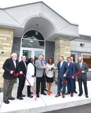 An official ribbon-cutting ceremony took place on May 2 at the new St. Joseph Mercy Health system office in Westland. The medical office is on Warren.