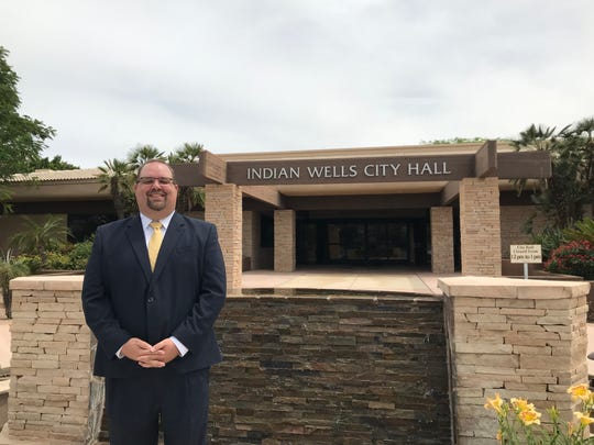 Chris Freeland is Indian Wells' new city manager, appointed by the City Council on Thursday, May 2, 2019.