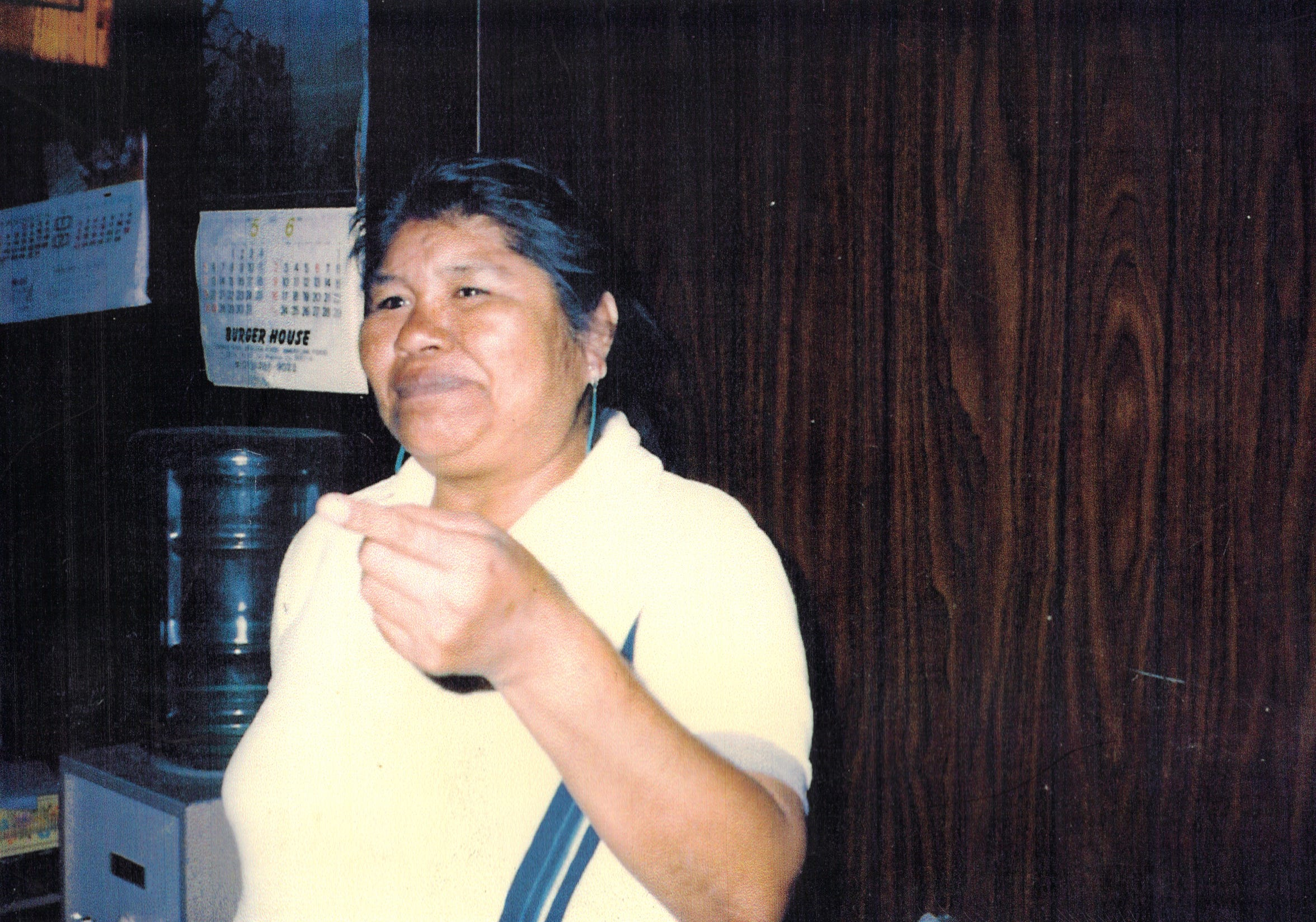 Roberta Augustine, shown here in an undated photo, died in 1987 and was the last enrolled member of the tribe before her children, Mary Ann, Herbert and Gregory Martin, enrolled in the tribe in 1988.