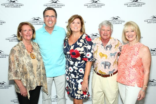 From left to right: Candi Holzgrafe, Allen Monroe, Melinda Drickey, Bill Appel and Jan Hawkins
