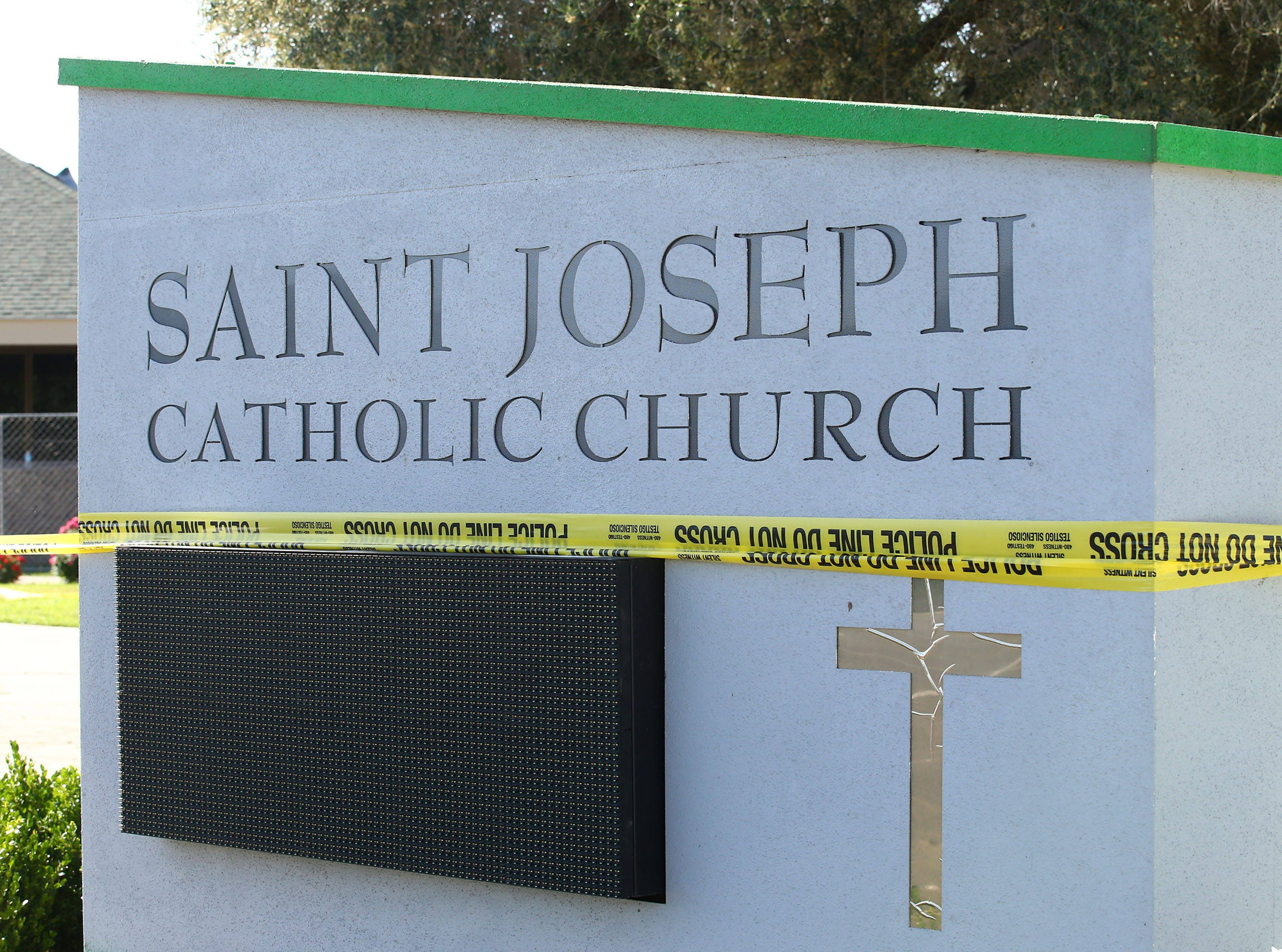St. Joseph Catholic Church on May. 2, 2019 at 40th Street and Desert Cove Avenue in Phoenix. A fire early Wednesday destroyed the church.