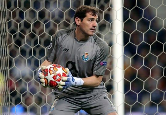 Iker Casillas, portero de Porto.