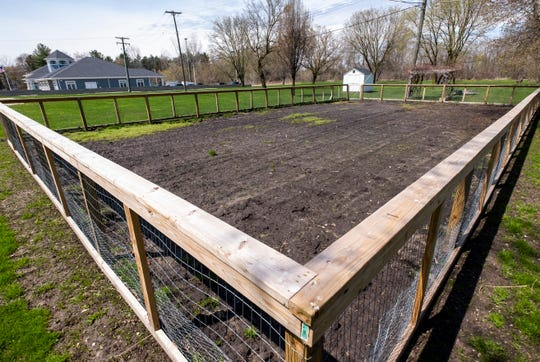 The township board recently approved fees and rules for people to begin using a community garden near the Fort Gratiot township hall.