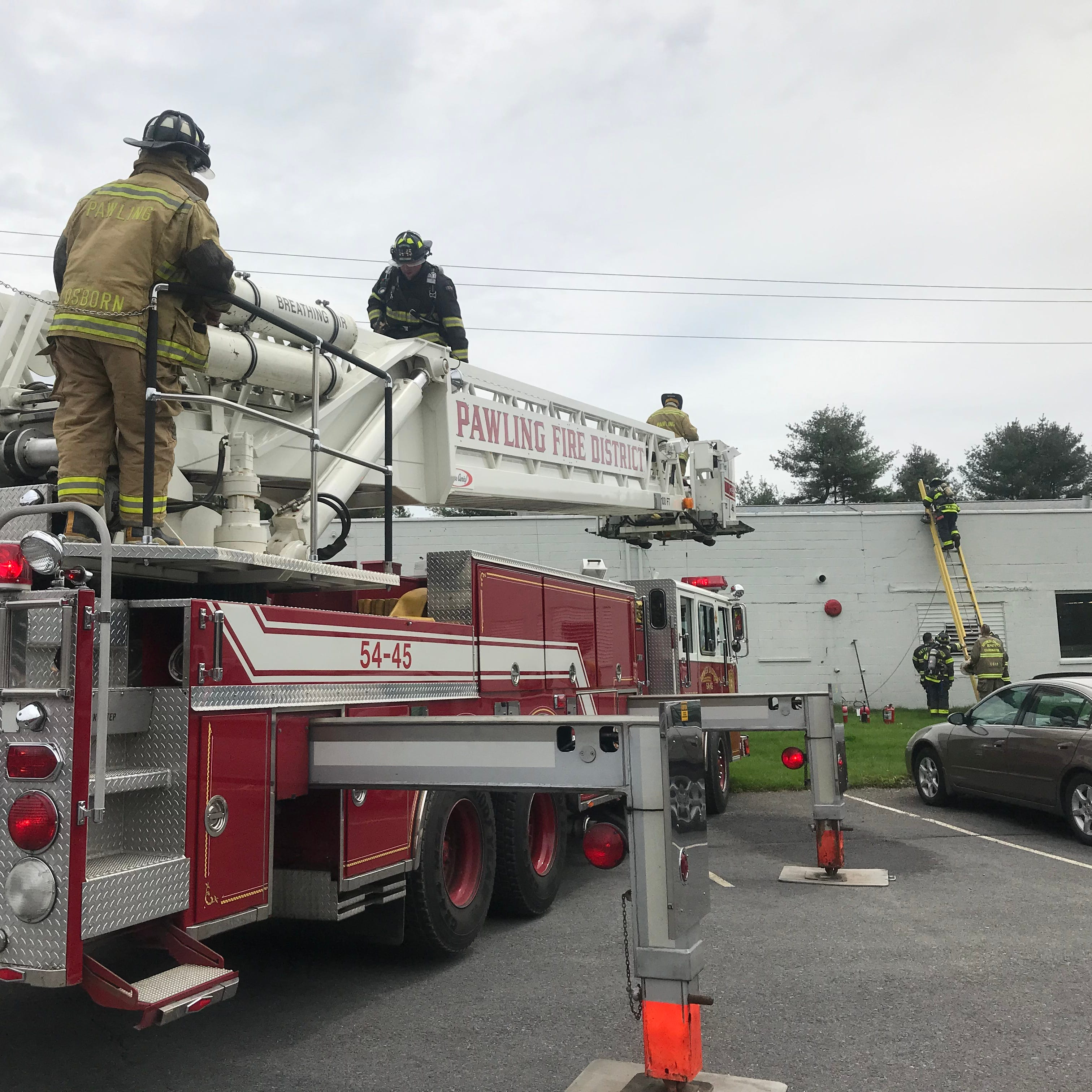 Fire at Pawling Engineered Products prompts evacuation, damages building