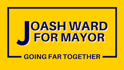 Joash Ward for Mayor