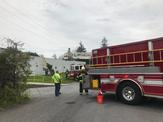 Agencies responded to a fire Thursday at Pawling Engineered Products in Pawling.