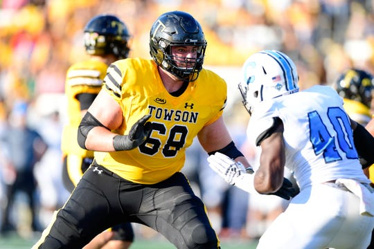 York Suburban gradaute Matt Kauffman was an FCS All-American for Towson this past season.
