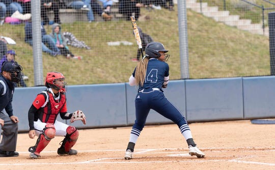 Nevada's Sadaria McAlister has appeared in all 46 Wolf Pack games and is hitting .353.