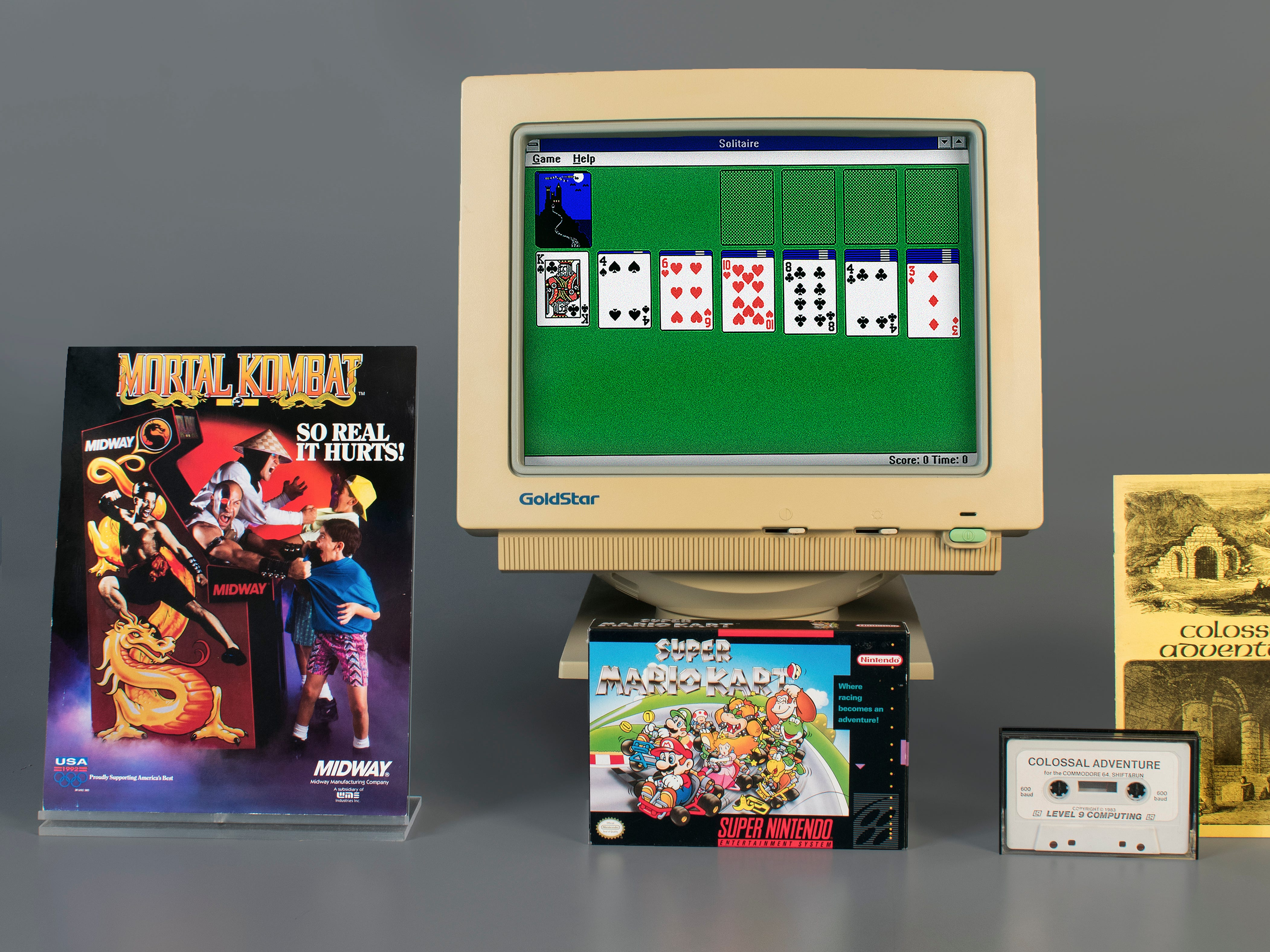 Colossal Cave Adventure, Microsoft Solitaire, Mortal Kombat and Super Mario Kart have been inducted into the World Video Game Hall of Fame in 2019 at The Strong National Museum of Play in Rochester, New York.