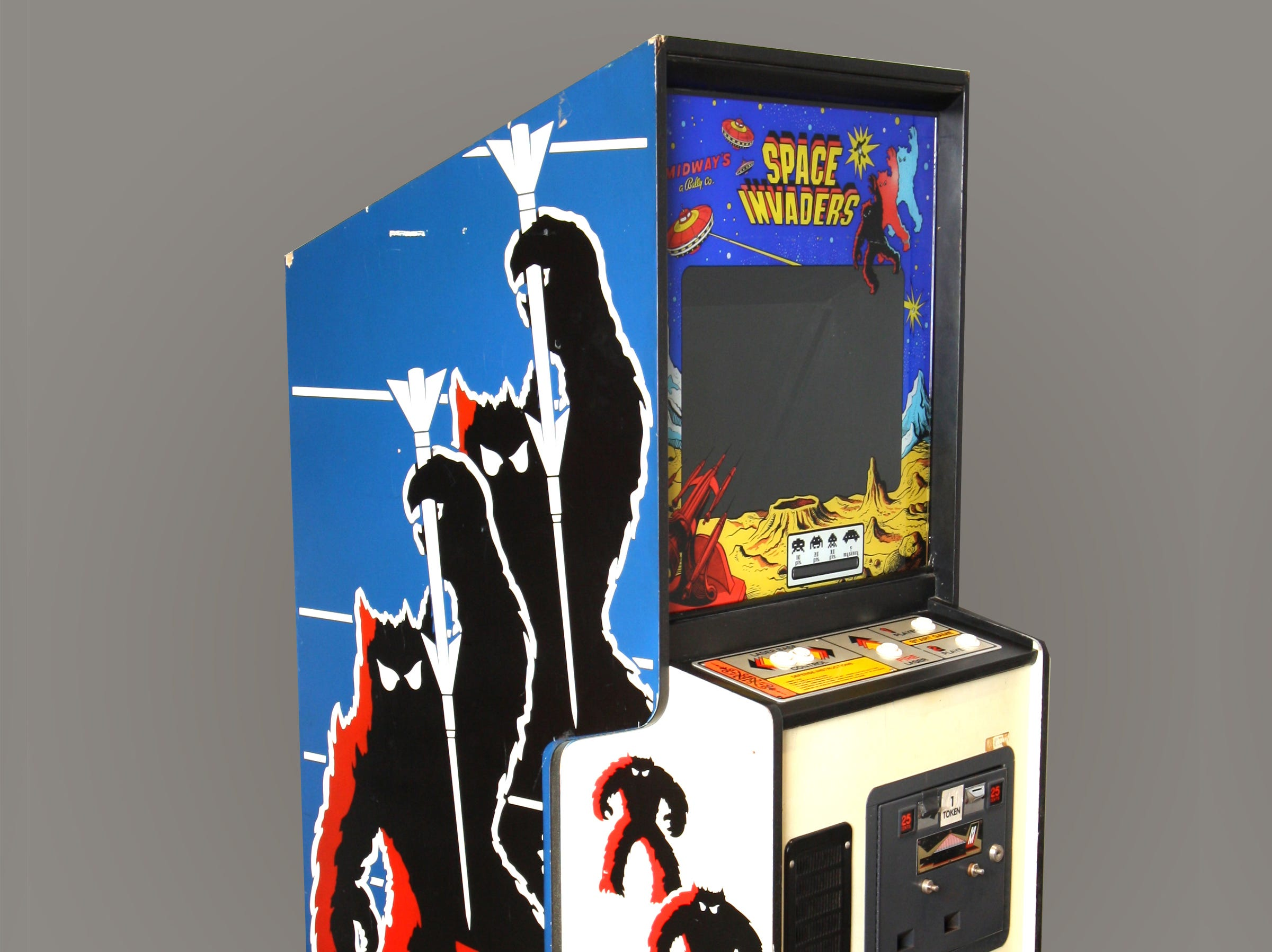 Space Invaders was inducted into the World Video Game Hall of Fame at The Strong National Museum of Play in  Rochester, New York in 2016.
