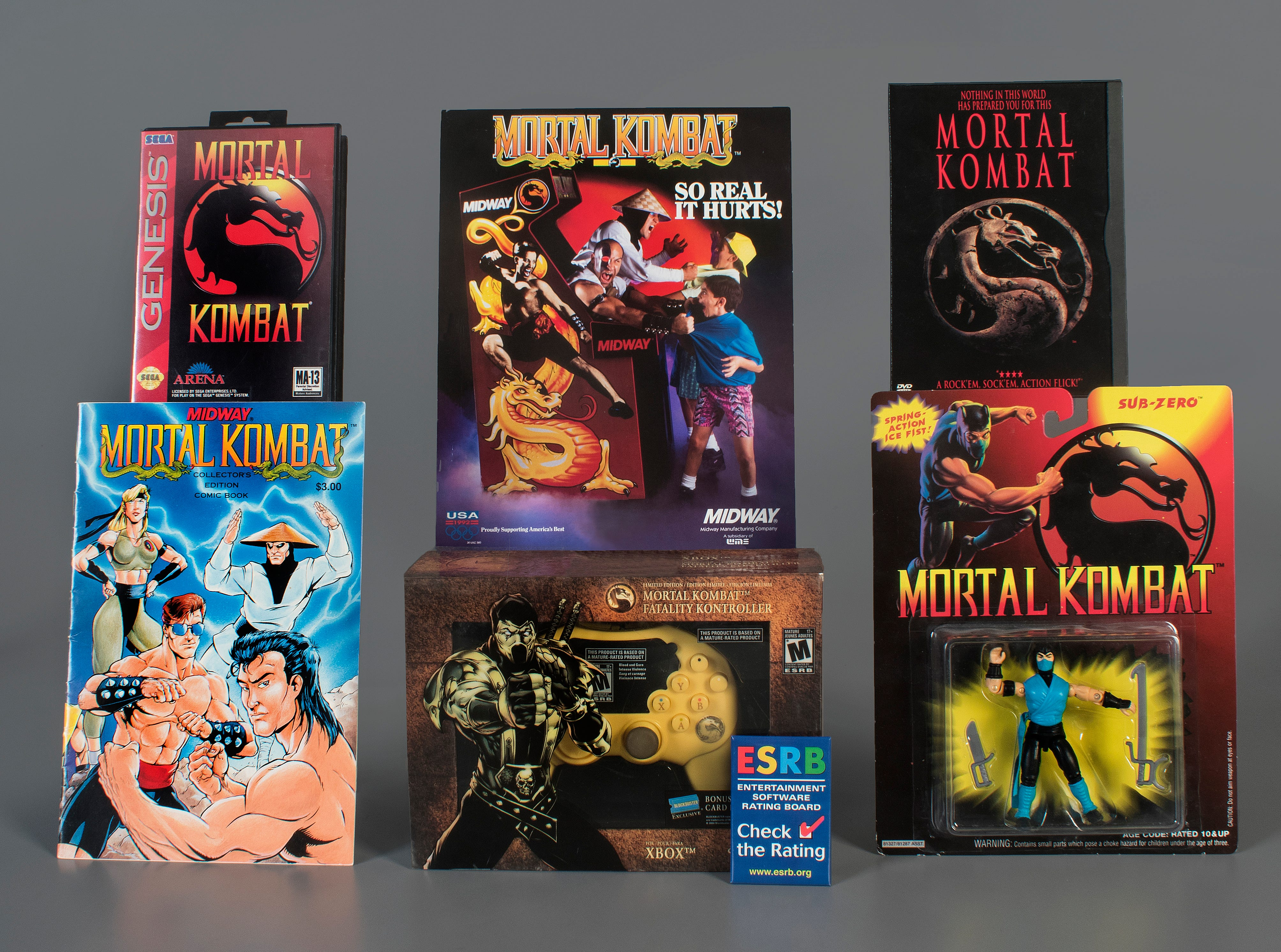 Mortal Kombat was inducted into the World Video Game Hall of Fame in 2019 at The Strong National Museum of Play in Rochester, New York.