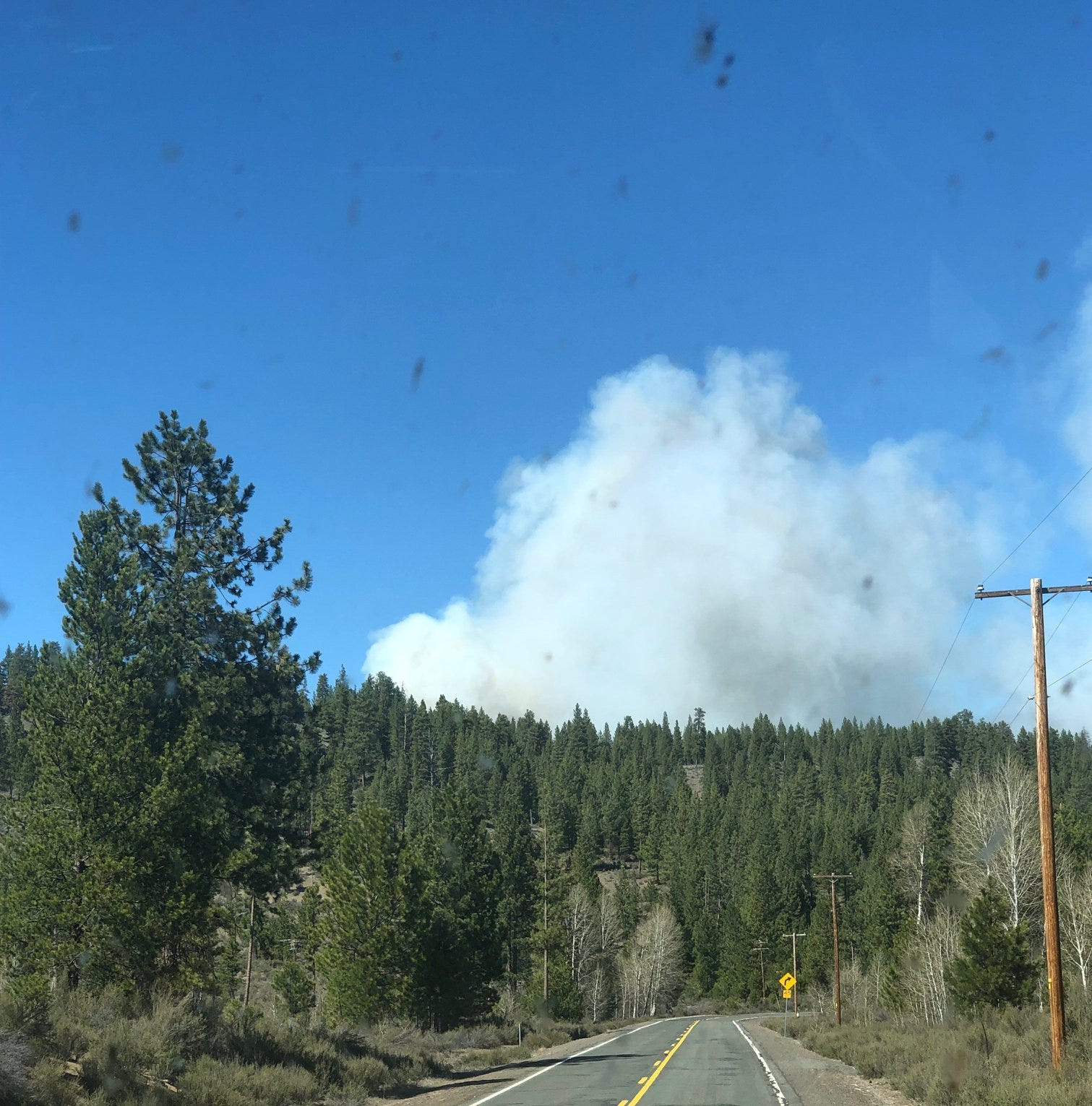 Bray Mill Fire in southern Oregon grows to 400 acres, marking third large wildfire of season
