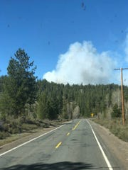 The Bray Mill Fire in southern Oregon grew to 200 acres Thursday.