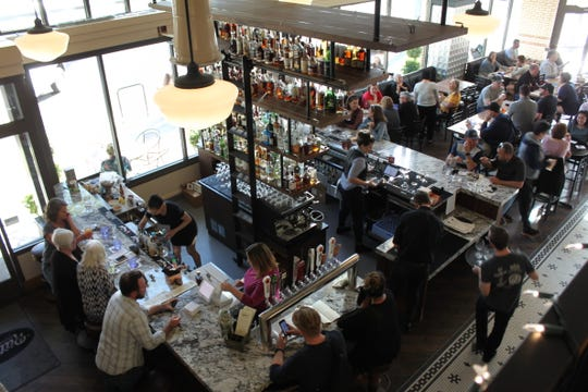 Owners Jessica and Mike Ritter arehoping that expanding the bar will make Ritter's as much of an evening destination as it is a daytime one.