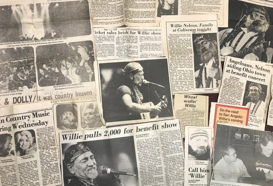The Standard-Times archives contains scores of news articles about Willie Nelson's career, following the singer as he forayed into acting, scheduled another concert in town or made the news in other ways.