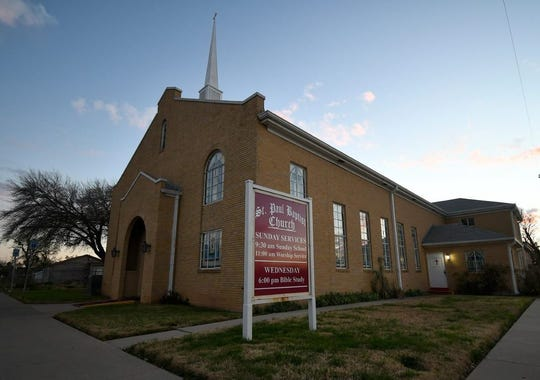 St. Paul Baptist Church, 1101 Martin Luther King Drive, was founded in San Angelo in 1896.