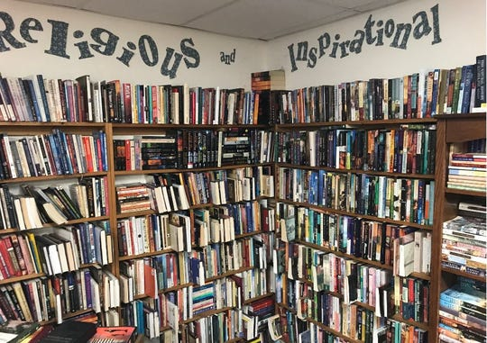 Rita's Book Exchange has something for just about everyone with more than 50,000 titles on site.
