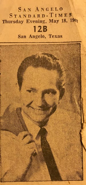 Willie Nelson first appeared in San Angelo back in May of 1967.