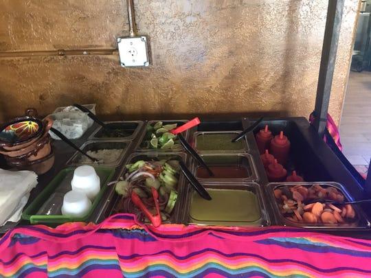 Freshly made salsa at El Rincon De San Miguel, 2605 N. Chadbourne Street Thursday, May 2, 2019.