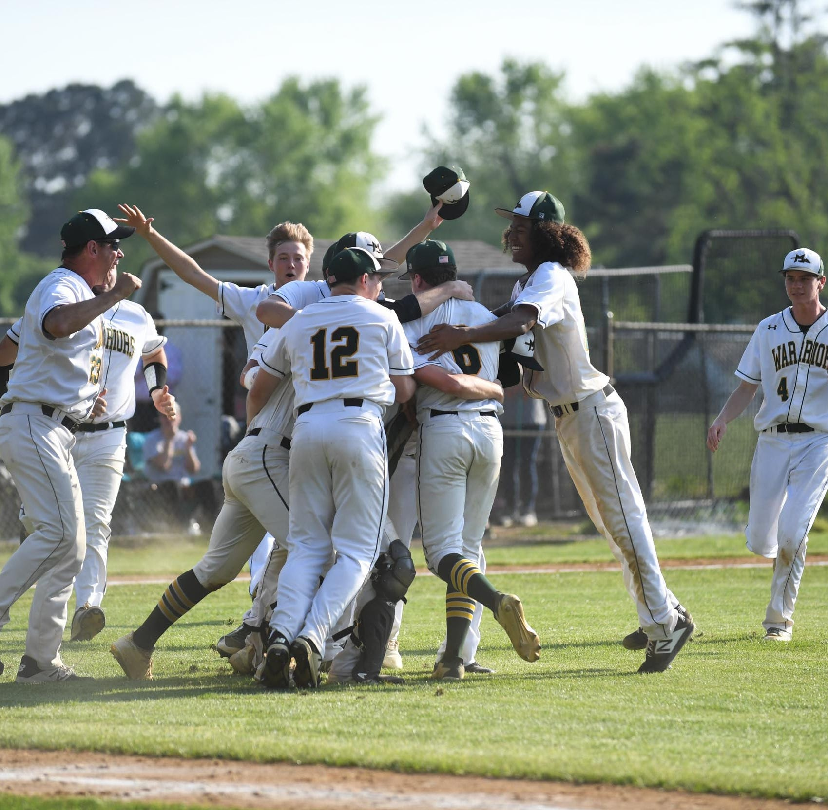 Mardela baseball wins first Bayside South title in program history