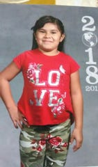 Aylani Rainbow was last seen leaving Marty Indian school with her biological mother, Monica Cournoyer on Tuesday around 1 p.m.