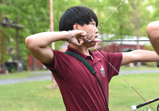 Ethan Avery, 15, a student at Grace Christian, will be a member of the state 4-H archery team competing in the national competition in June.