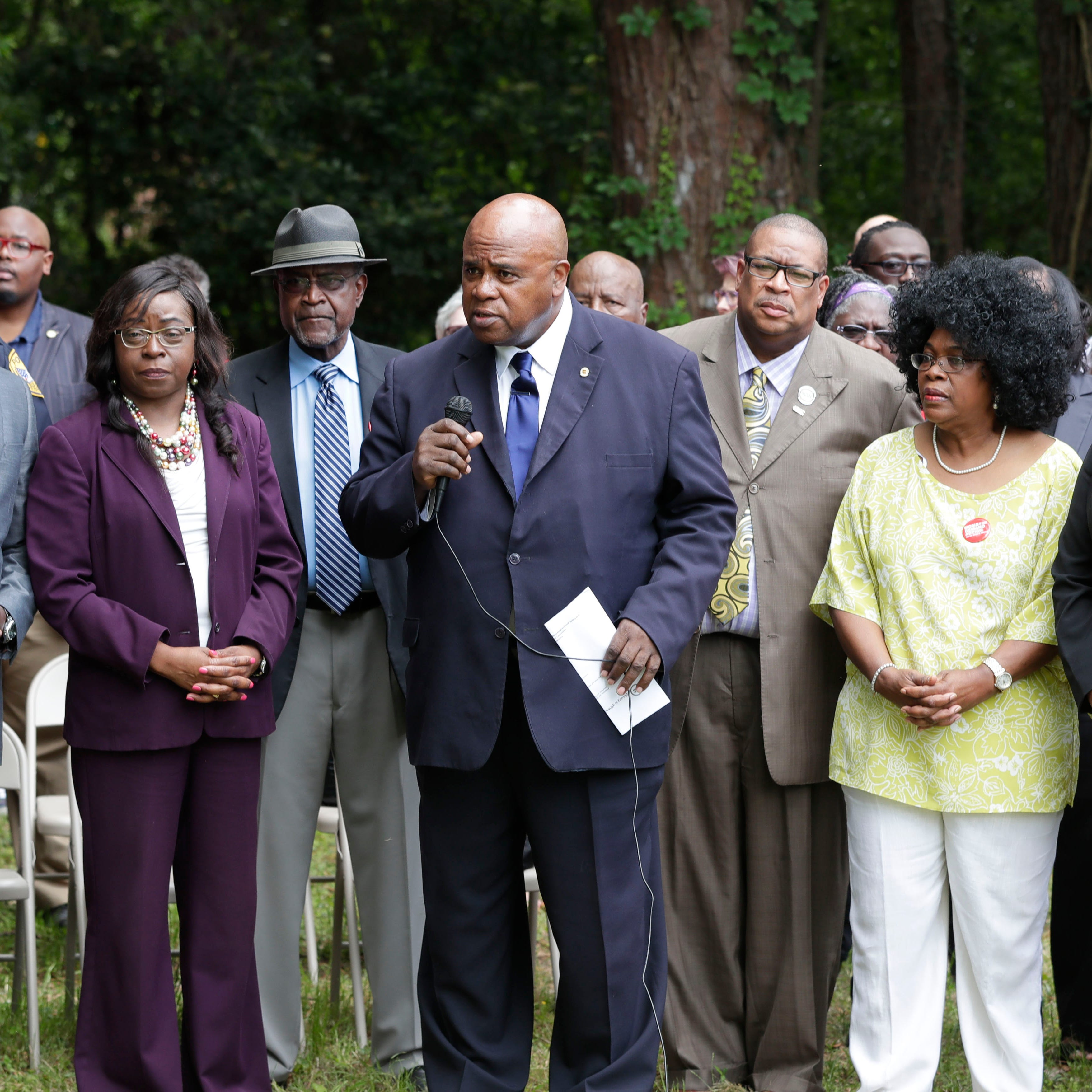 Amid rash of gun violence, city and community leaders say 'enough is enough'