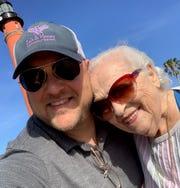 Anne Yordon with grandson Jackson Yordon.