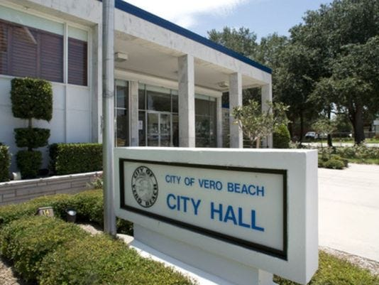 Vero Beach City Council could consider promoting Interim City Manager Monte Falls next week.