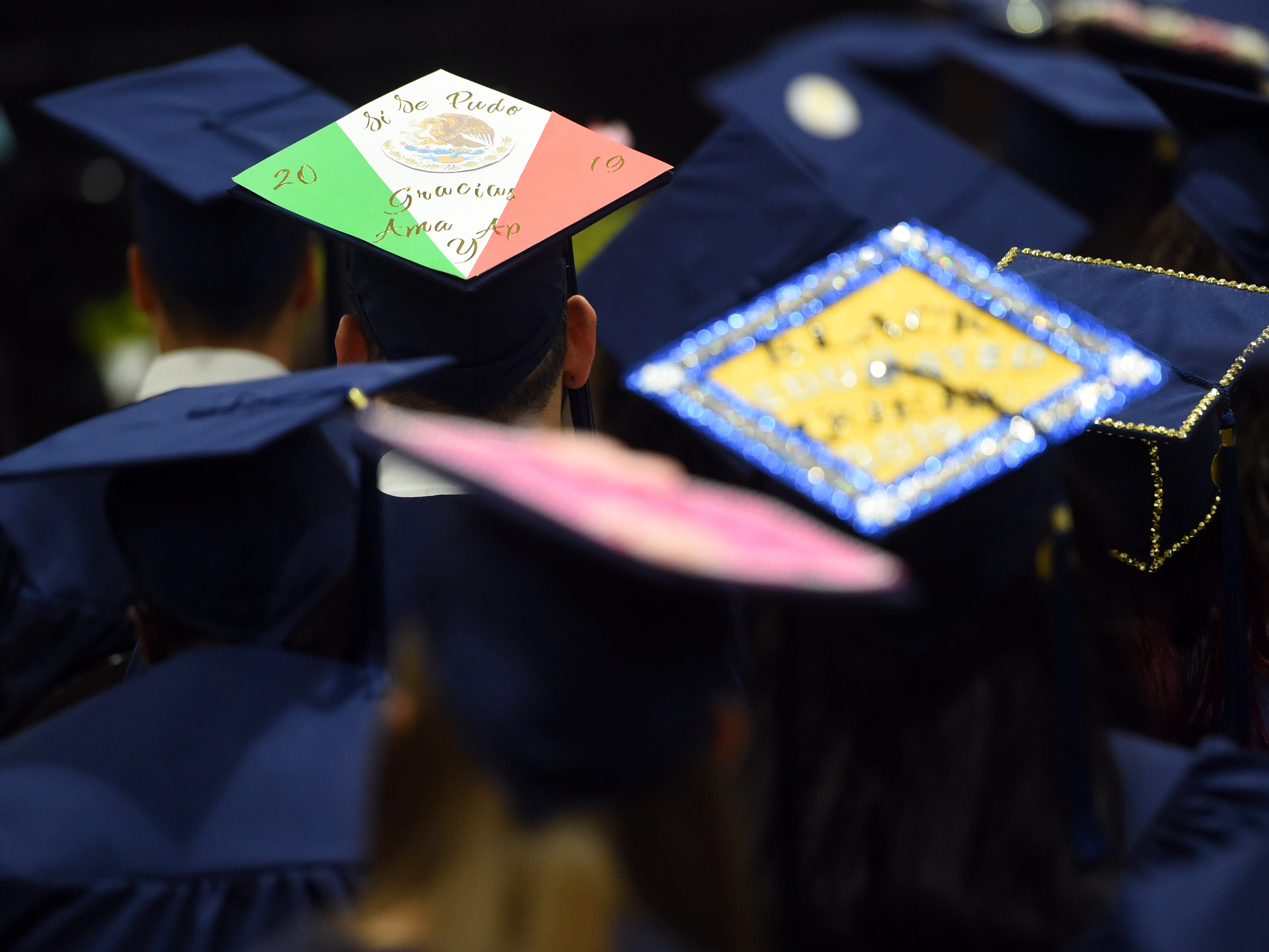 Indian River State College held the first of four spring commencements on Thursday, May 2, 2019, conferring associate of arts degrees. Nearly 3,700 students will graduate from IRSC this spring, making this the seventh consecutive year that the graduating class has exceeded 3,000.