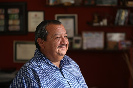 "Pastor Juan Fierro has been housing asylum seekers at his Albergue Para Migrantes ""El Buen Pastor"" in Juarez since the migration from Central America began."