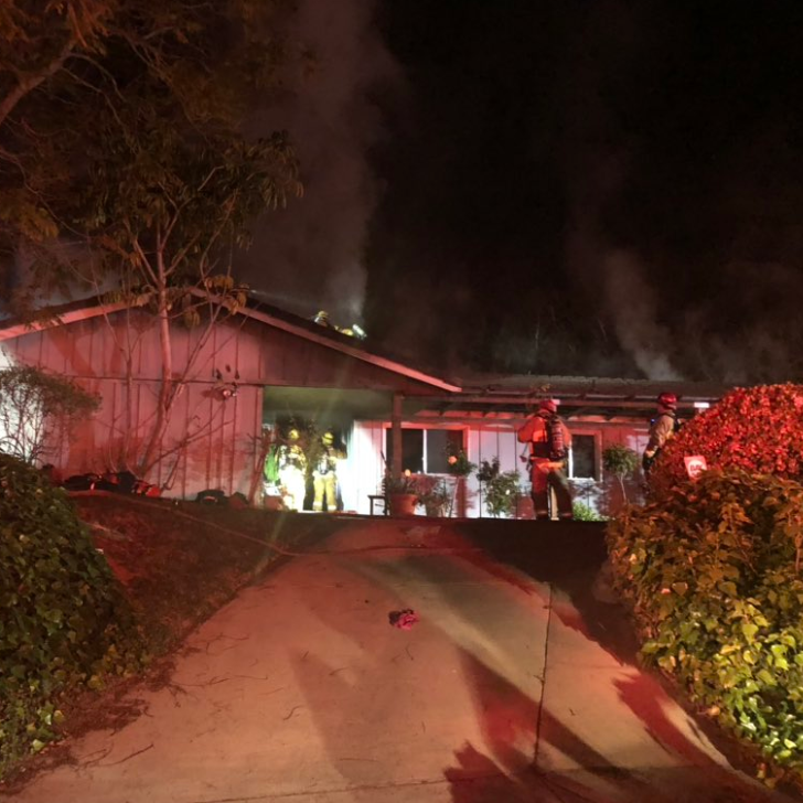 Camarillo woman critically injured in house fire