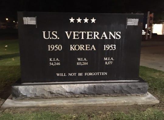Veterans Memorial Park in Santa Paula.