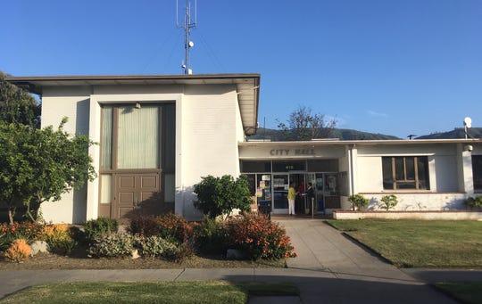 Santa Paula City Hall.
