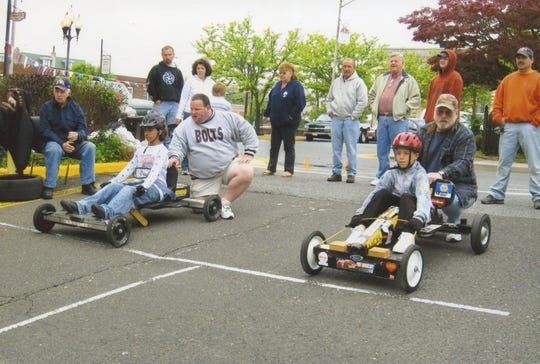 """The annual soap box derby is the highlight of the Millville Elk's """"Ducky"""" Sharp Youth Week. The event culminates the week of festivities on May 11."""