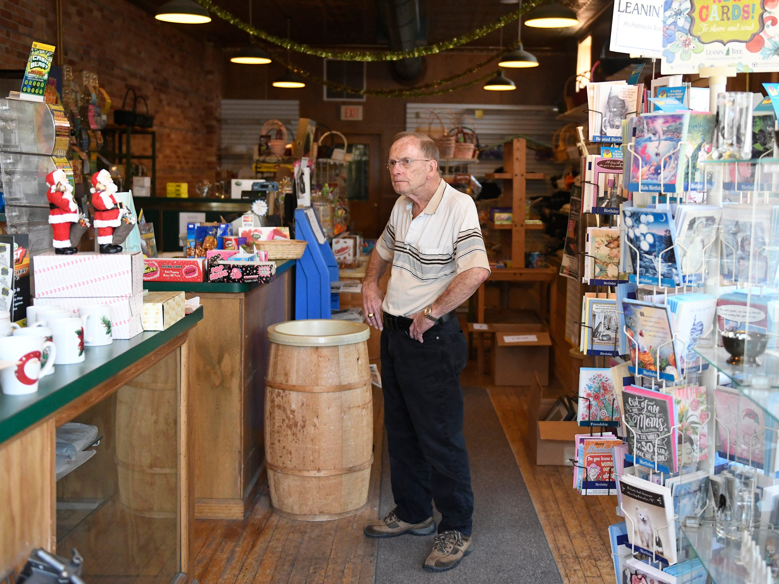 David Vanaman, owner of The Incredible Bulk, candy store in Millville, reflects on twenty-five years in business. He recently agreed to sell the building on N. High Street and plans to retire. The Incredible Bulk is planned to shut its doors forever in June.