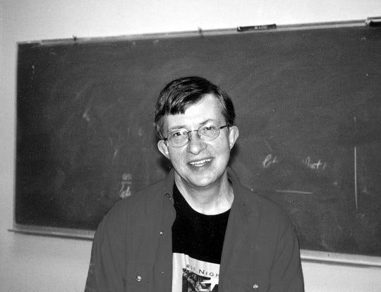 Doug Hosler, when classrooms still used chalkboards.