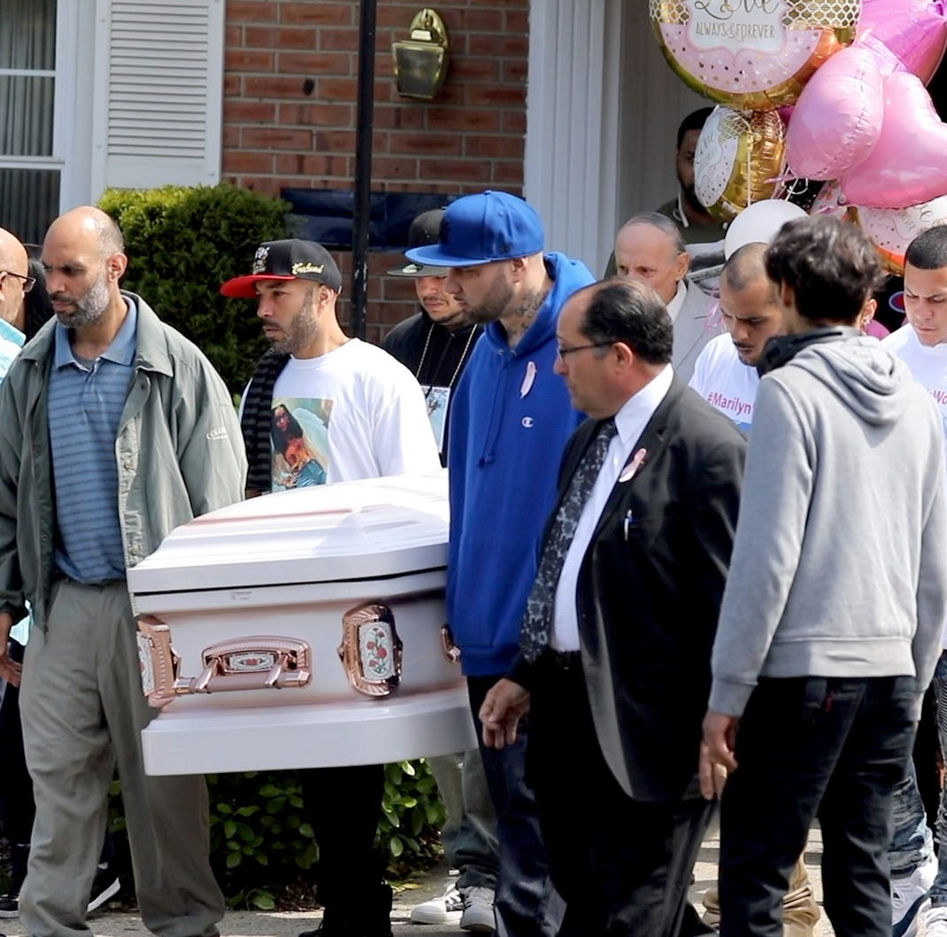 Marilyn Cotto Montanez funeral: Mourners at funeral bid final farewell to Yonkers teen who was shot