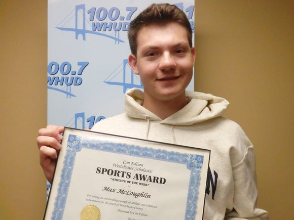 Mamaroneck baseball's Max McLoughlin is the Con Edison Athlete of the Week
