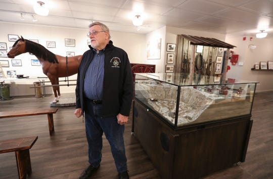 Haverstraw Brick Museum president Michael Brophy discusses the renovations made to the museum on Thursday, May 2, 2019.