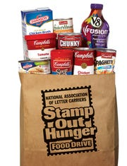 National Association of Letter Carriers need your help to Stamp Out Hunger. Leave donations at your mailbox on May 11, and your letter carrier will deliver the items to the Wichita Falls Area Food Bank.