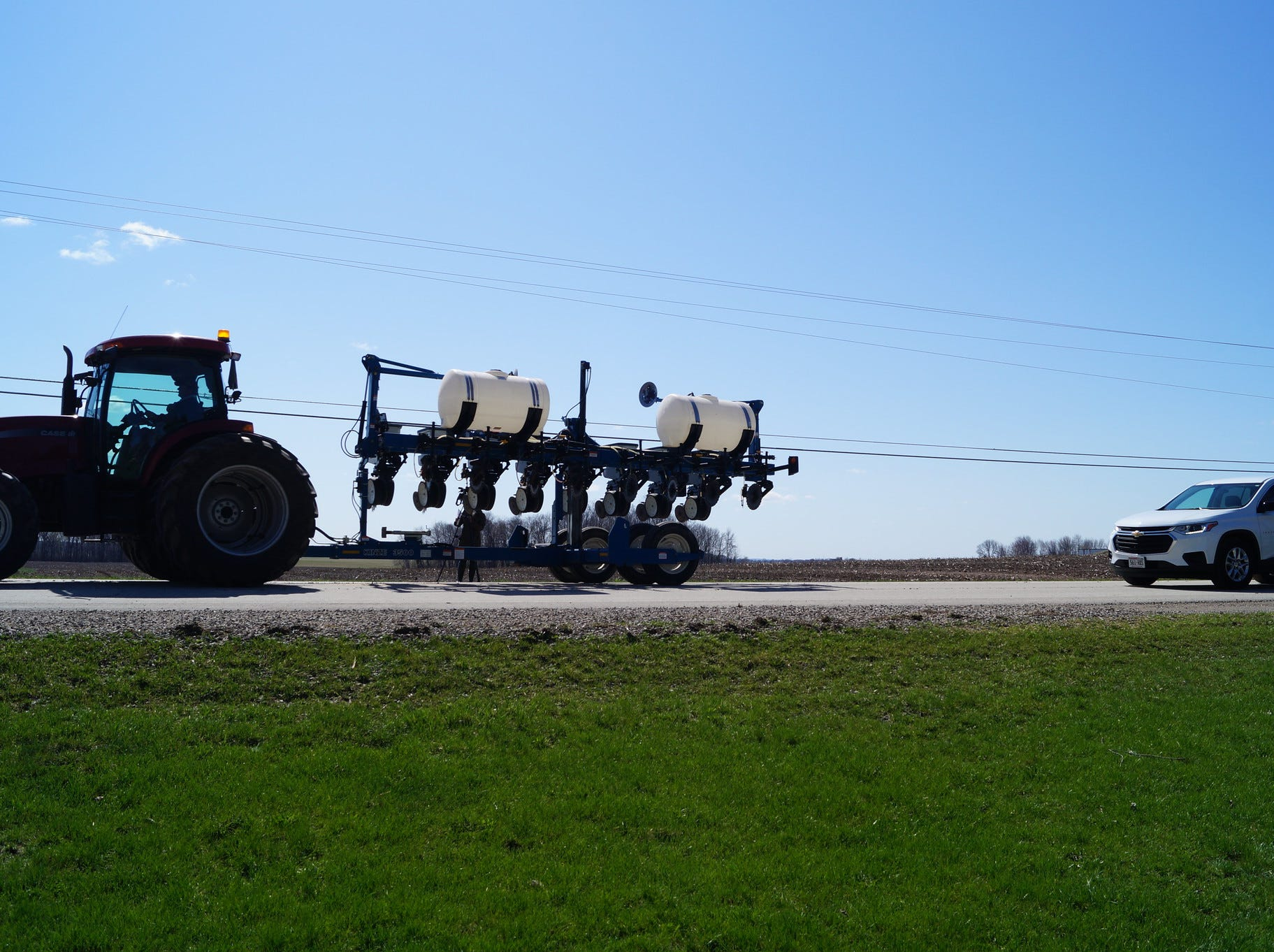 Farm equipment can legally operate on any roadway in Wisconsin so long as it is in compliance with weight restrictions and follows proper lighting and marking procedures, according to the WI DOT.