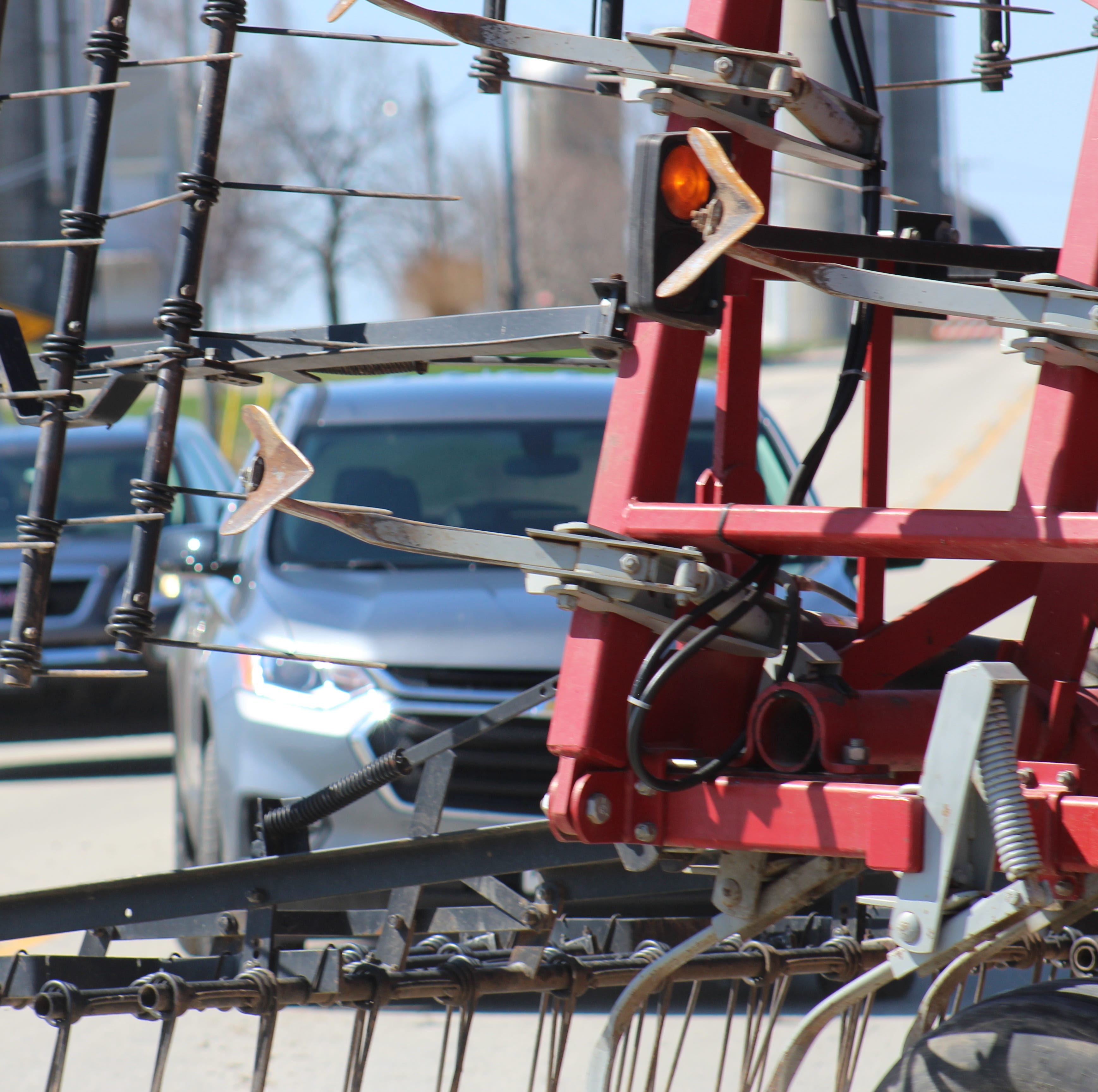 Sharing Wisconsin roads safely with farm vehicles