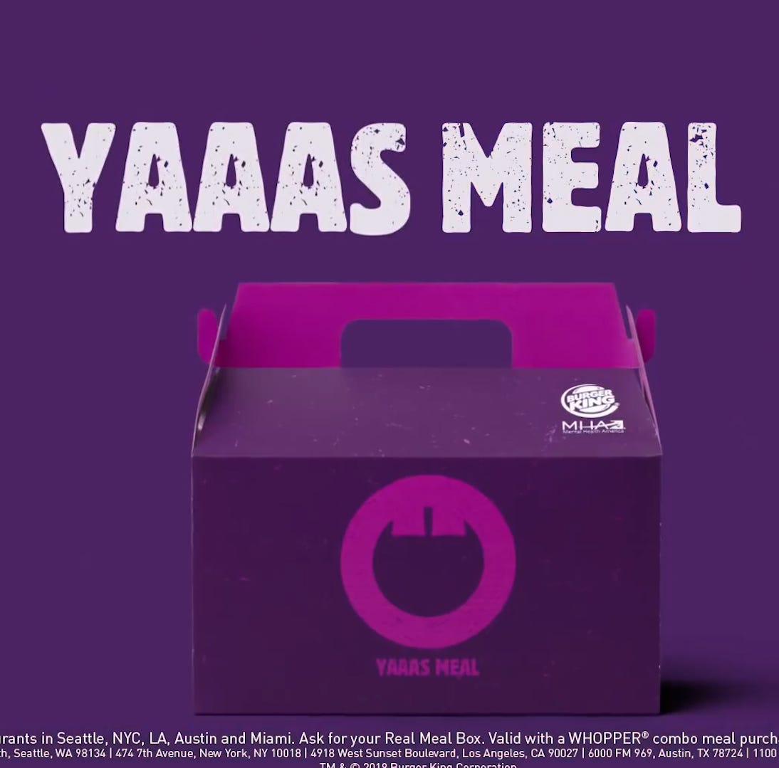 'Unhappy meals' at Burger King has the internet feeling a little salty