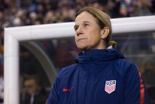 United States women's soccer coach Jill Ellis.
