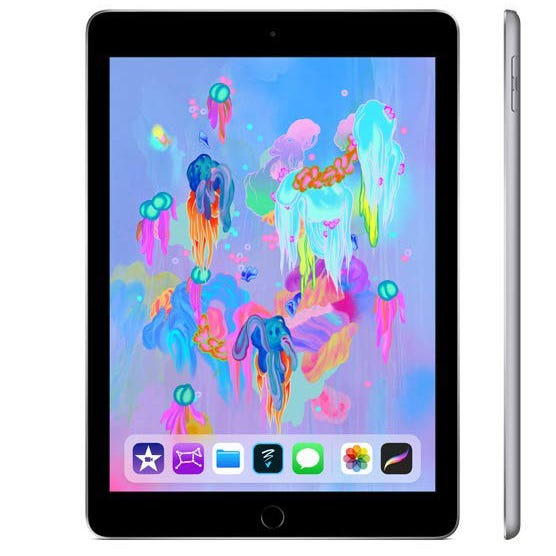 The latest Apple iPad is on sale on Amazon.