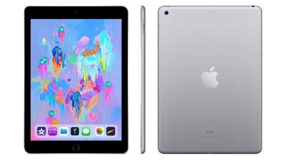 The latest Apple iPad is on sale on Amazon.